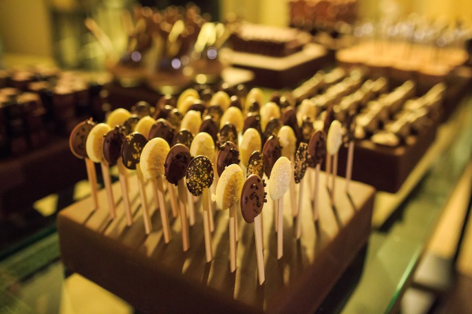 chocolate-lollypops